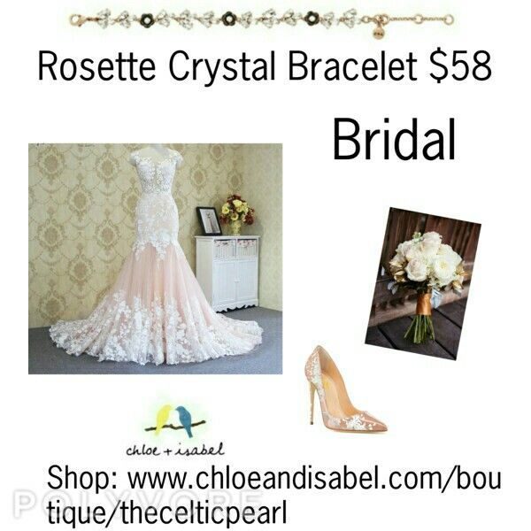 Today's Featured Product: Rosette Crystal Bracelet $58  From Bridal, to Professional, to Casual it's the perfect accessory to top off your look.  Shop:  https://www.chloeandisabel.com/boutique/thecelticpearl/products/B368CLAG/rosette-crystal-bracelet    #Summer #love #daily #Featured #product #bracelet #bridal #wedding #bridalparty  #bridesmaids #formal #everyday #gold #clear #crystal #crystals #rose #flowers #sparkle #bling #Romantic #jewelry #fashion #accessories #style #shopping #shop…