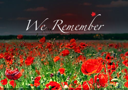 On remembrance day members of the armed forces (soldiers, sailors and airmen) are commemorated.
