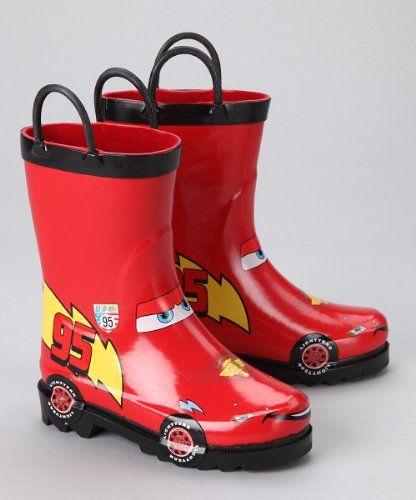 disney cars kid u0026 39 s lightening mcqueen boy u0026 39 s red rain boots