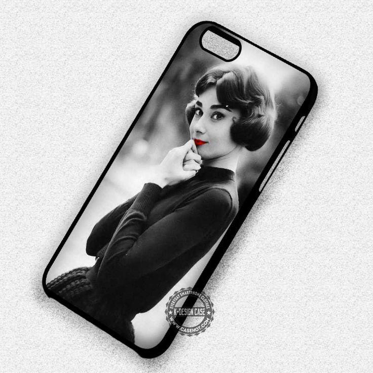 Audrey Hepburn Beautiful Vintage - iPhone 7 6 5 SE Cases & Covers