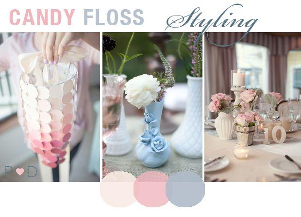 15 best Light Pink & Blue, Champagne & Smoke Grey Wedding Colours ...