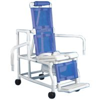 Duralife Adult Tilt-n-Space Shower Commode Chair with Dual Swing Arms,Each,2005 Price: 873.71 Retail Price: 1,193.65 2005 Health Products For You DURALIFE 2005 Bed, Bath & Kitchen > Bath Safety > Shower Chairs/Stools