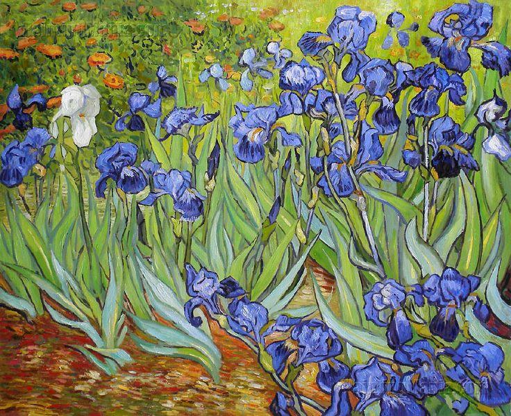 Van Gogh, Irises (The Getty, LA)