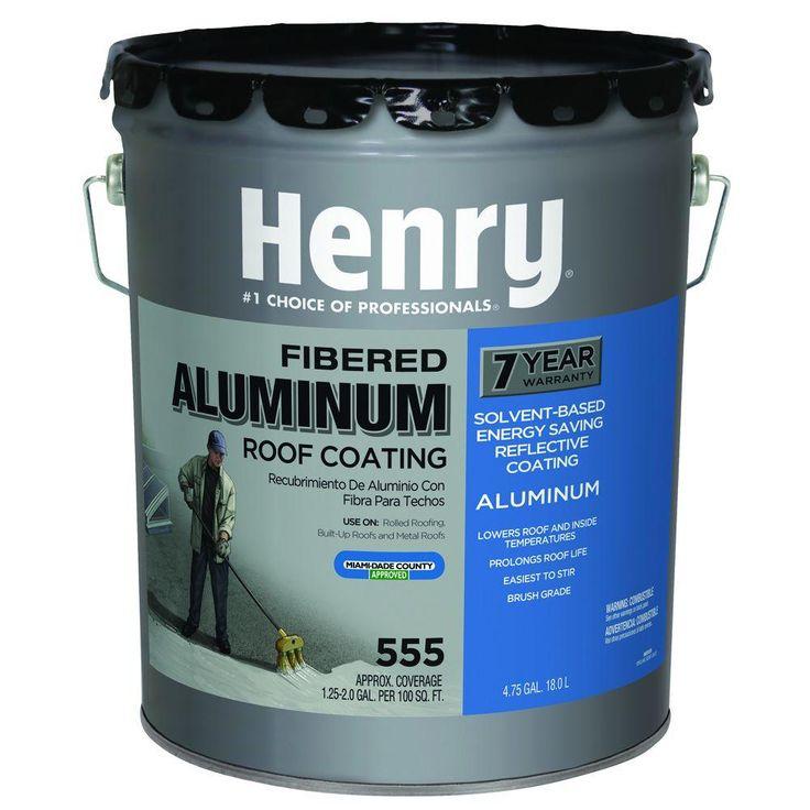 Henry 4.75 GAL HE555 Premium Aluminum Reflective Roof