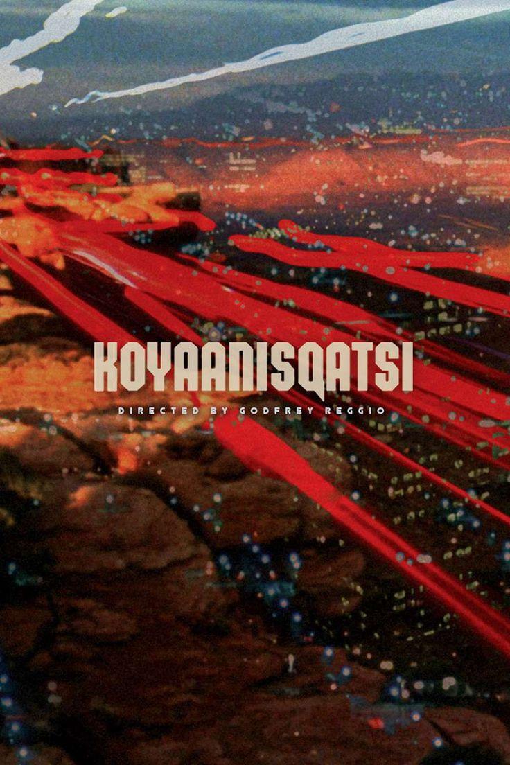 Koyaanisqatsi (1982) de Godfrey Reggio (http://ultracuerpos.com/fichas/koyaanisqatsi-1982-godfrey-reggio/) #documental #poster