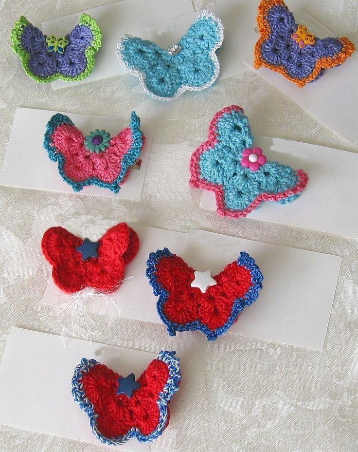 217 best images about ? Crochet Butterflies ? on Pinterest