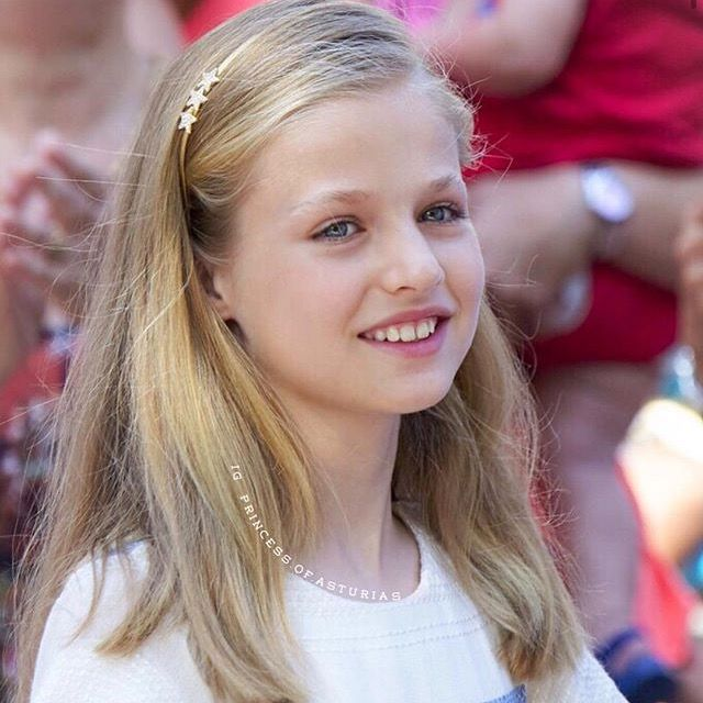 Princess Leonor today visit the Can Prunera museum