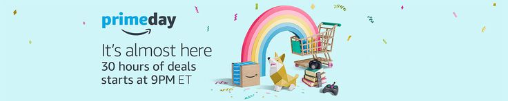 PRIME DAY STARTS IN 3-2-1!!! HURRY and sign up for #AmazonPrime so you can take advantage of the awesome sales! (affiliate link) #PrimeDay