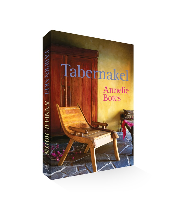 Tabernakel - book cover for Annelie Botes