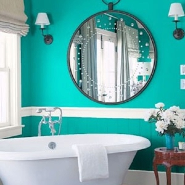 38 Best Green Bathrooms Images On Pinterest