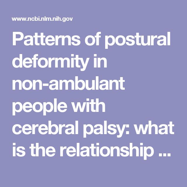 Patterns of postural deformity in non-ambulant people with cerebral palsy: what is the relationship between the direction of scoliosis, direction of pelvic obliquity, direction of windswept hip deformity and side of hip dislocation?