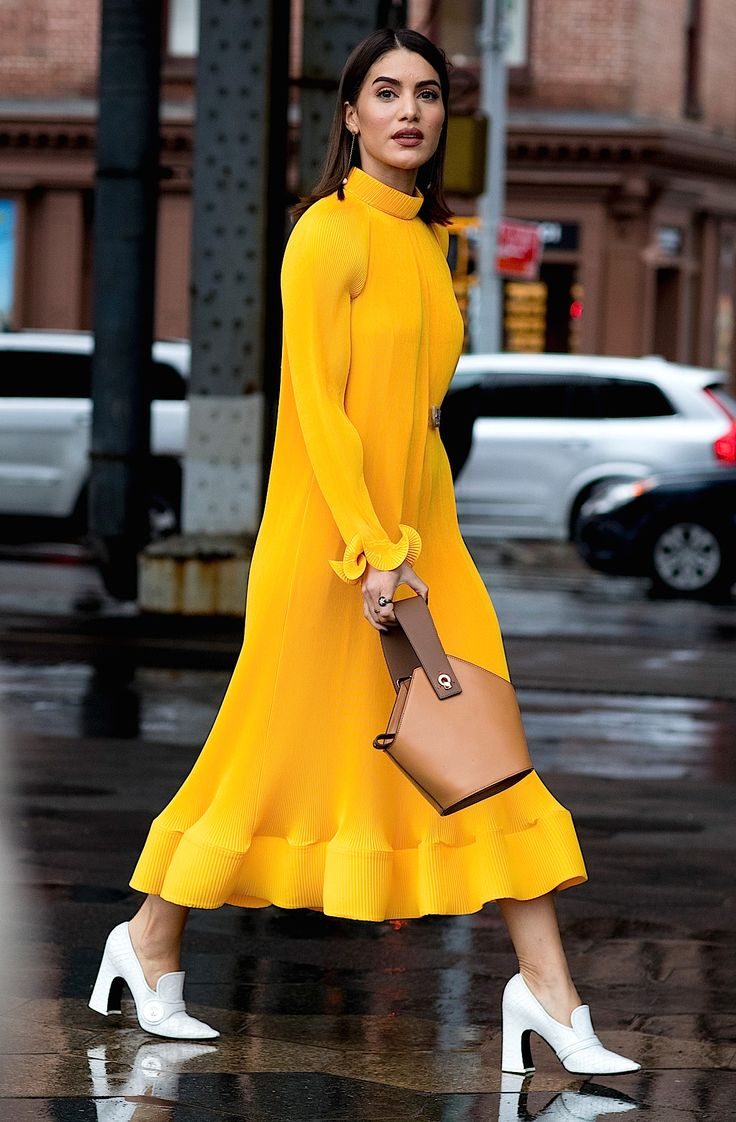 Camila Coelho. New York Fashion Week, Fall 2018.