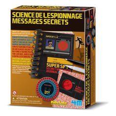 4M Kit science de l'espionnage et messages secrets-product