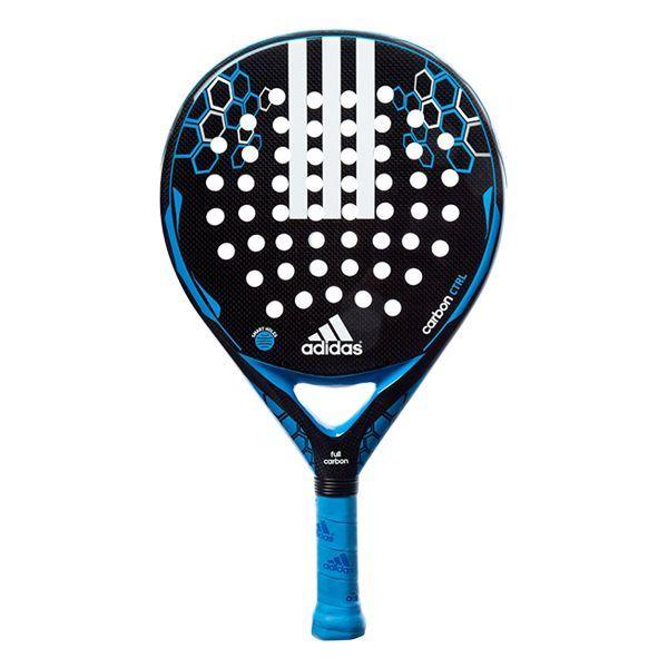 Pala de padel Adidas carbon control, es una de las raquetas de padel con mas control del 2016