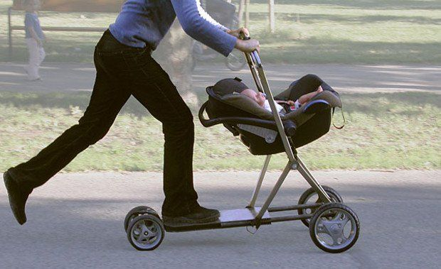 Baby Stroller/Scooter | www.piclectica.com #piclectica