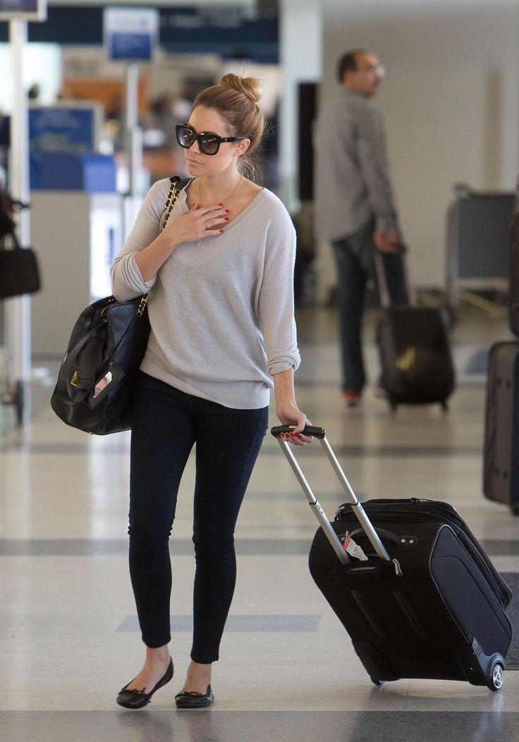 Airport fashion - Lauren Conrad