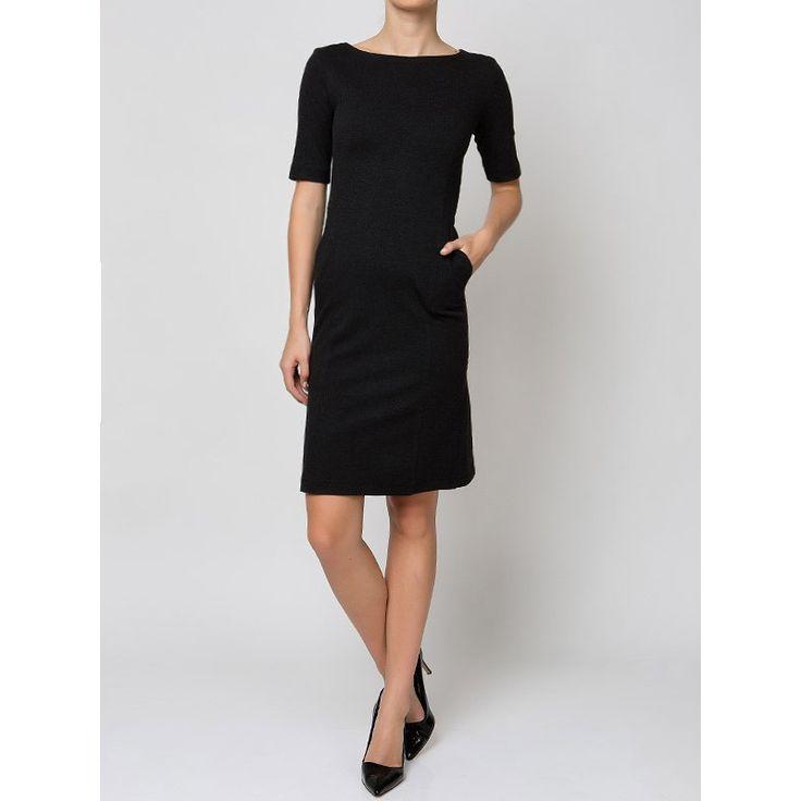Φόρεμα Απο Ελαστικό Ύφασμα- Γκρι Anna Riska