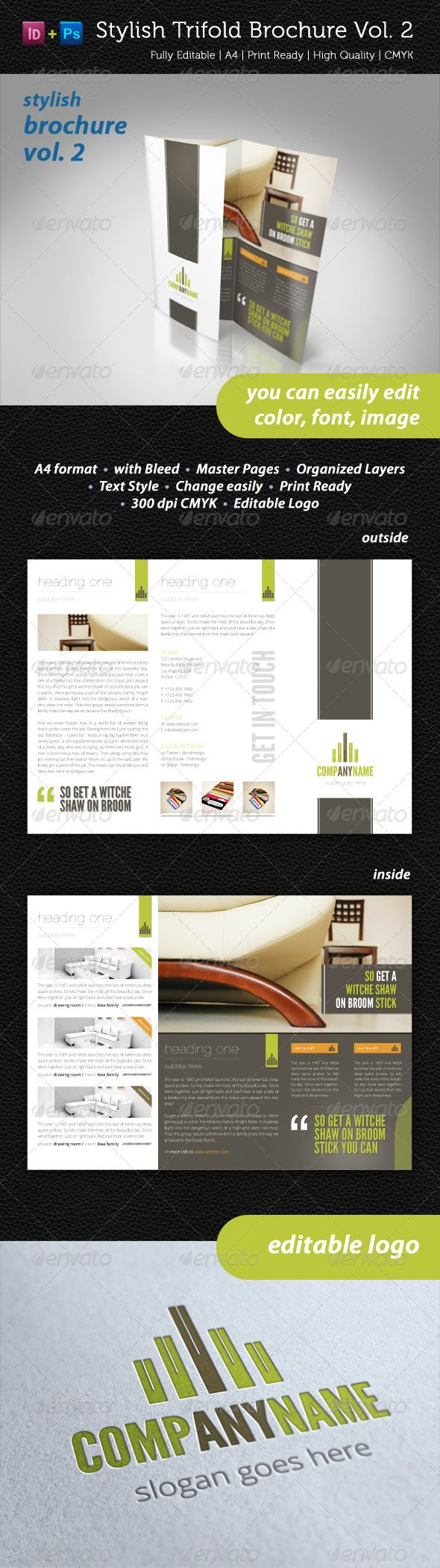 15 best images about brochure design on Pinterest