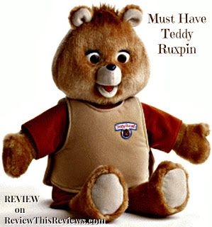Review This!: Teddy Ruxpin:  A Parent's Review