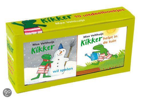 bol.com   Kikker - uitdeelboekjes, Max Velthuijs   9789025861452   Boeken