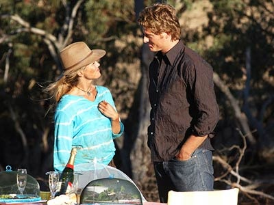 McLeods Daughters. Tess  Nick. cute couple. Great tv, show.