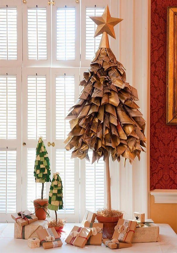 Τα 15 πιο περιέργα χριστουγεννιάτικα δέντρα!   Φτιάξτο μόνος σου - Κατασκευές DIY - Do it yourself