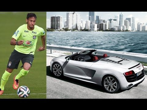 Neymar's Car Collection 2016.  Full name: Neymar da Silva Santos Júnior Birth date: February 5 1992 Age: 24 years old Birth place: Mogi das Cruzes (São Paulo) Brazil Nationality: Brazilian Height: 174m (57) Weight: 65kg (143.3 lbs) Field position: Forward First professiona club: Santos FC Shirt/jersey number in Brazil and Barcelona: #11 Professional club career debut: March 7 2009  Itápolis vs Santos FC Brazilian National Team debut: July 26 2010  United States vs Brazil Current club: FC…