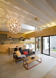 Living Room  White Street House - North Fremantle  Philip Stejskal Architecture