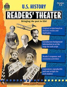 U.S. History Readers Theater...gotta get historical events in where I can with this 7th grade Social Studies class.  I'll go crazy if I have to teach too much geography.