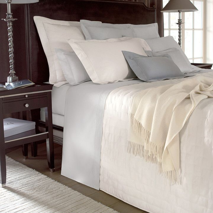 Yves Delorme - Triomphe Silver Duvet Cover - King