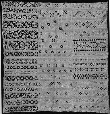 Italian Needlework: Reticello sampler