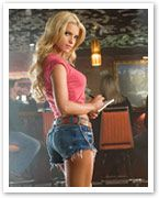 Jessica Simpson's hotpants diet Jessica Simpson's hotpants diet: how the star slimmed down and toned up for her Daisy Duke role. After losing kilos to squeeze into a pair of super-tight denim cut-offs in The Dukes of Hazzard, Jessica Simpson has maintained her weight with the South Beach Diet. I tried Atkins, but felt like I was depriving myself, the singer-turned-actress says. So I switched to the South Beach Diet, which is more of