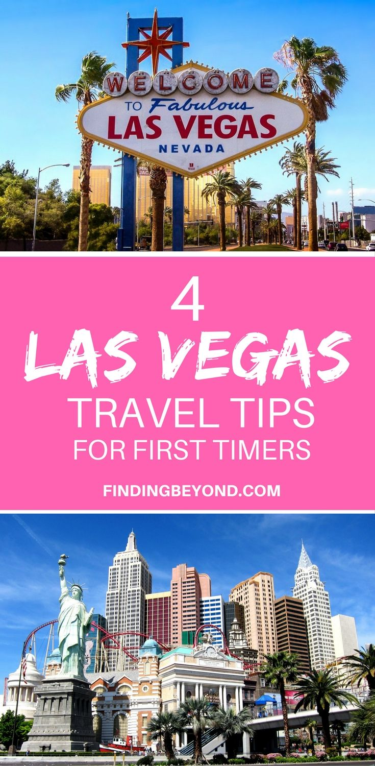 Heading to Las Vegas for the first time? Lucky you! Make sure you're prepared and avoid any unwanted stress by following these four helpful tips. | Best of Las Vegas | Highlights of Las Vegas | What to do in Las Vegas | Accommodation in Las Vegas | #lasvegas #travel #travelblogger