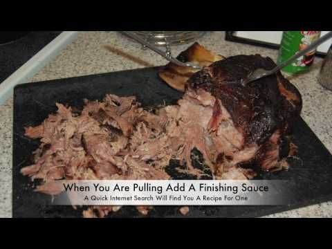 Pulled Pork In A Masterbuilt Electric Smoker by Garcia Brother BBQ