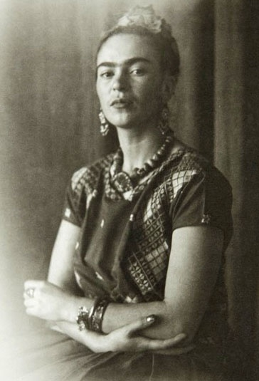 Frida Kahlo by Nickolas Muray c 1939
