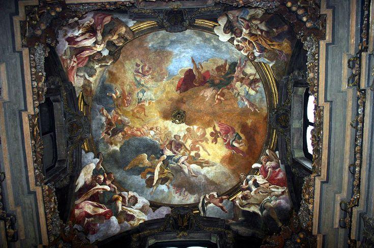 Οροφή Οστεοφυλακίου του Αγίου Μπερναντίνο στο Μιλάνο