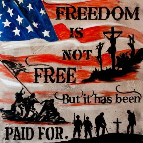 Remembering on this Memorial Day....those who paid the price for my freedoms! Thank you!