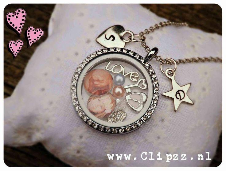 # Memories necklace #  www.clipzz.nl