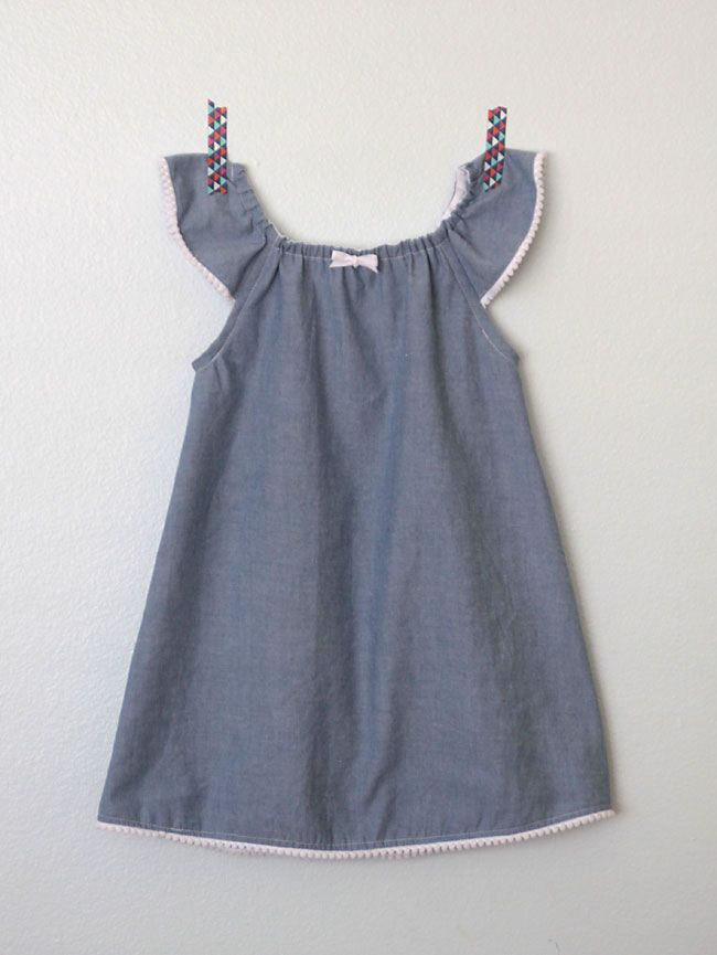 how to make a cute sundress with flutter sleeves sewing tutorial and free pattern