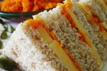 Cheese and Pickle Sandwich.Edam with Carrot Chutney  Edam cheese is widely available and well-known. Most Edam cheese is sold young, before it has had time to mature. This cheese is fairly soft, sweet and nutty in flavour.  When it becomes more mature is has a stronger flavour.  I have assumed that the edam you buy is the young cheese you usually find in the supermarket. The sweetness of the cheese goes very well with the sweetness of the carrot and you can just taste the slight flavour of…