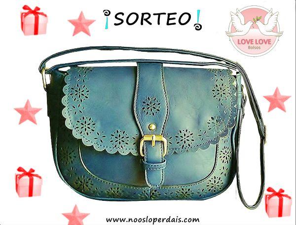 Sorteamos este fantástico bolso bandolera de Bolsos Love Love desde aqui: http://noosloperdais.com/2014/12/16/sorteo-bolso-bandolera-de-bolsos-love-love/