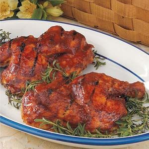 Barbecued Cola Chicken *this was disappointing with a very bland taste~needs something to add a little zip!