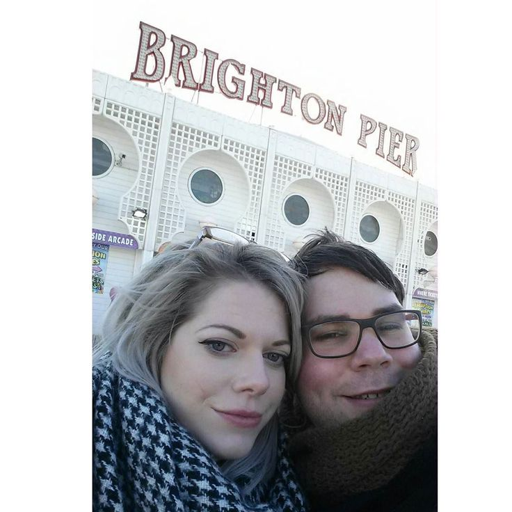 Trip down South to Brighton  #uk #europe  #britan #brighton #brightonpier #selfie #cute #love #picoftheday #nofilter #beach #sea #traveling  #trip #glasses  #fun  #girlfriend  #coldweather