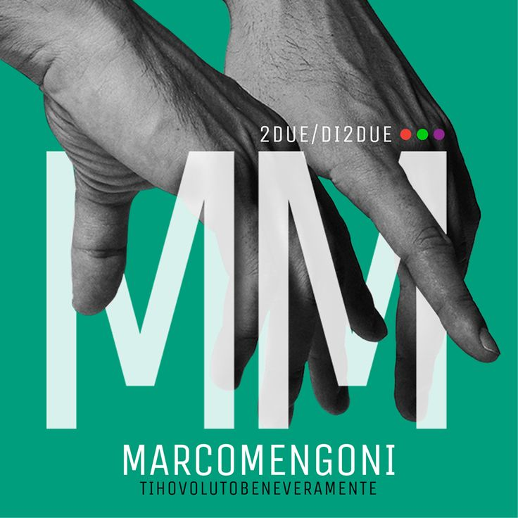 #TIHOVOLUTOBENEveramente New single from the new musical project #2DUEdi2DUE by Marco Mengoni will be released on October 16 2015