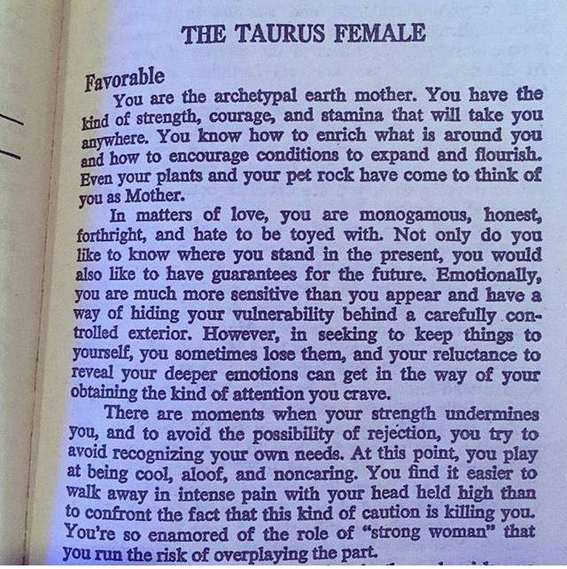 Female Taurus
