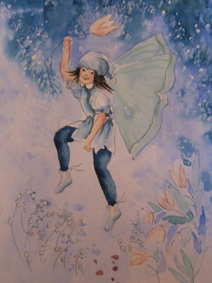 Blue Fairy Boy by Heidi Eljarbo