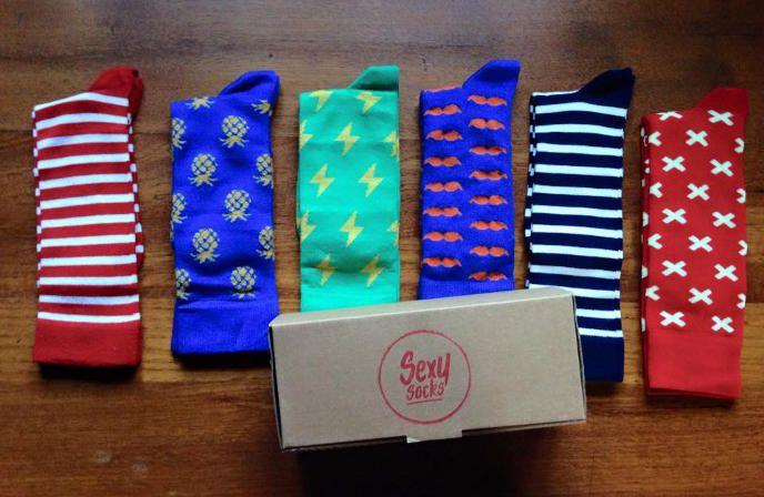 I love statement socks!