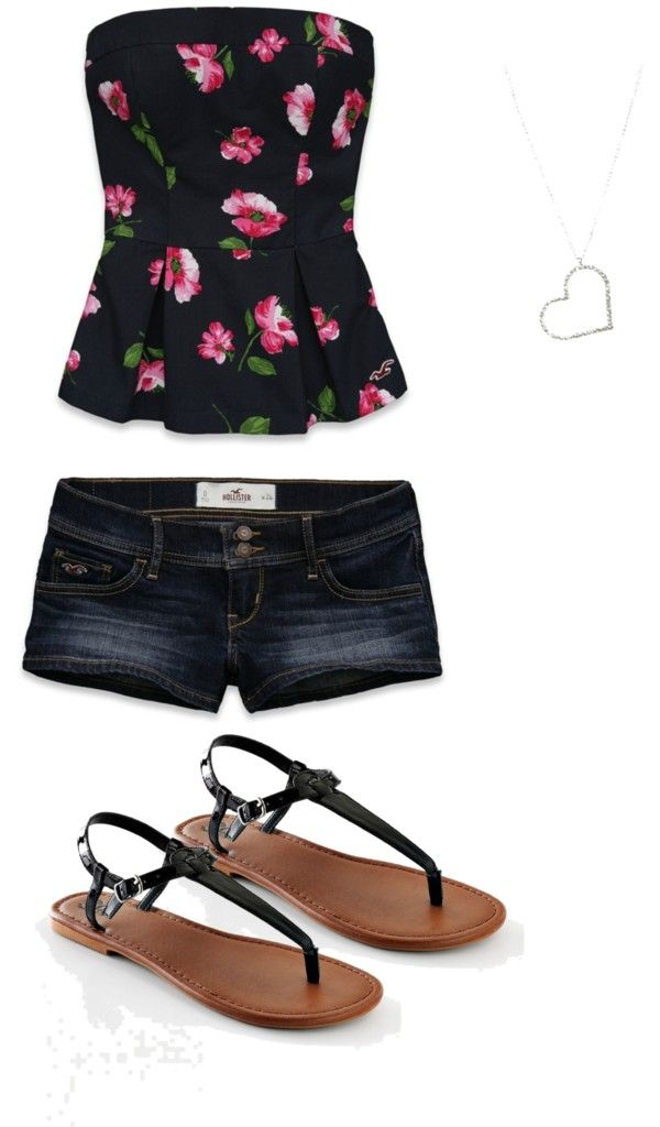 """Hollister Girl"" by jenna08 on Polyvore"