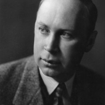 Sergei Sergeyevich Prokofiev (1891-1953) - Russian composer, pianist and conductor. Photo by Hanna Elkan, 1930s