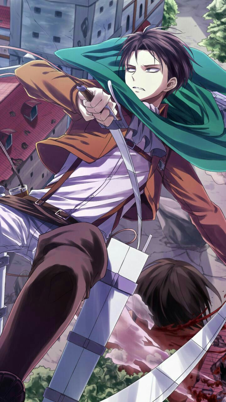 Pin By The Lil Miss Pink On Lệ San In 2020 Attack On Titan Levi Chibi Wallpaper Attack On Titan Anime